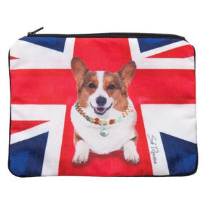 Monty The Corgi Cosmetic Pouch